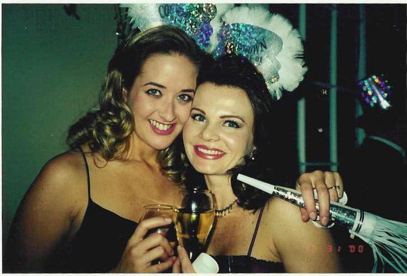 Jenn & heather new years