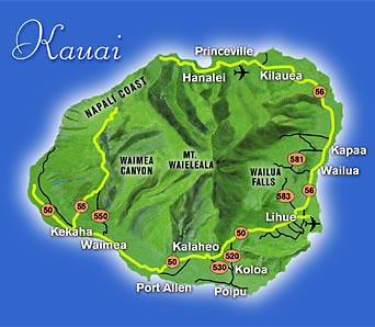 Map-kauai