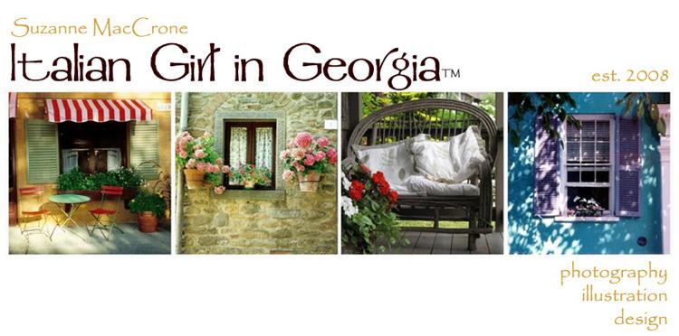 Italian Girl in Georgia Blog Banner - small