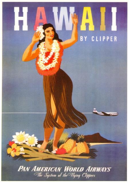 HawaiiTravelPoster