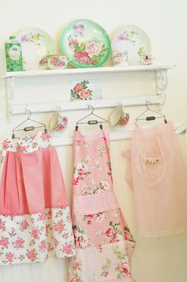 Pretty apron from Sweet Eye Candy Creations